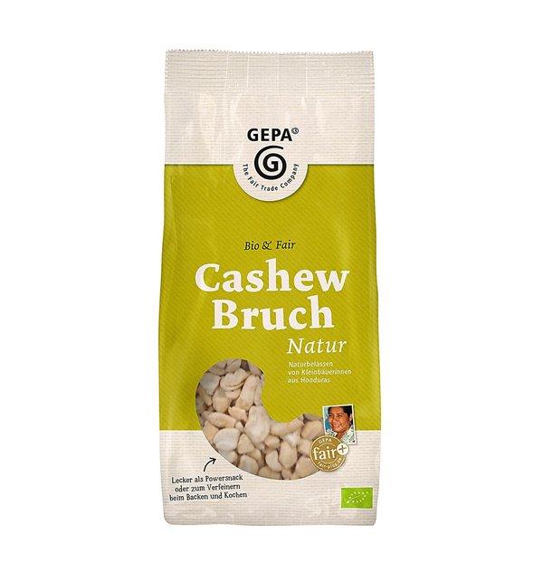 Bio Cashew Natur Bruch, 500g