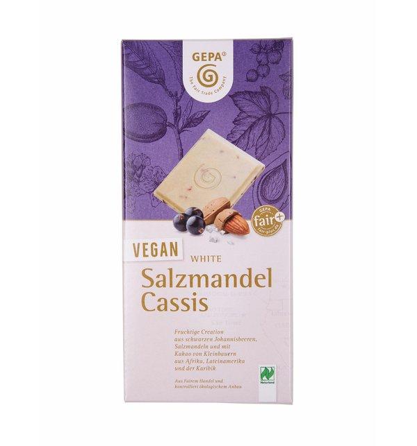 Bio Vegan White Salzmandel Cassis