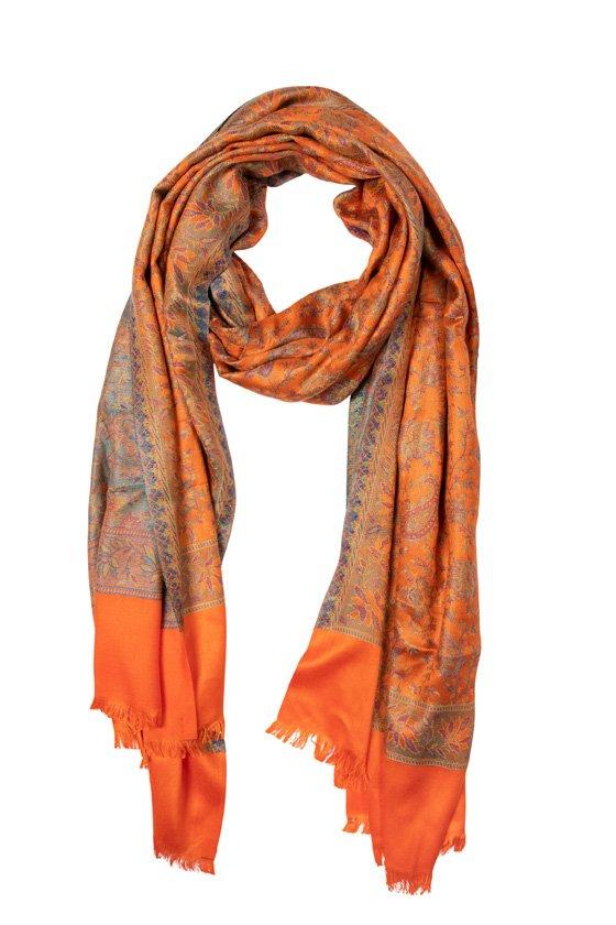 Schal Modal-Orange