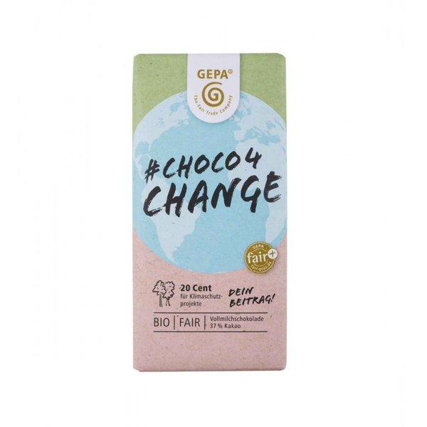 Choco4Change, die faire Vollmilchschokolade