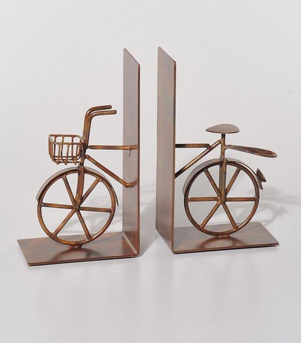 Buchstützen Fahrrad