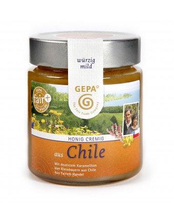 Honig aus Chile, cremig