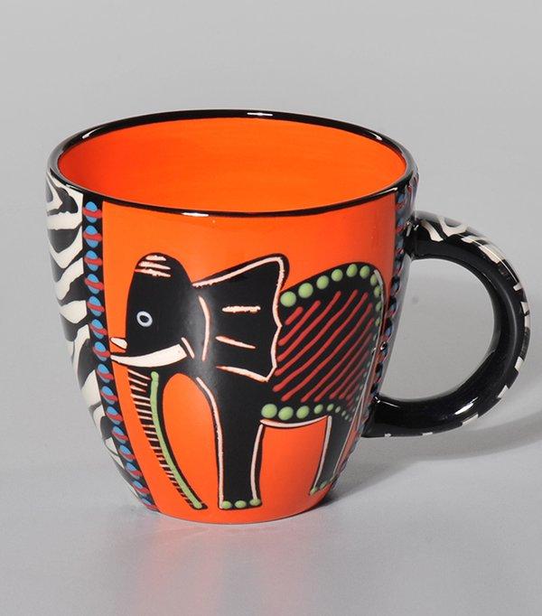 Keramiktasse aus Südafrika