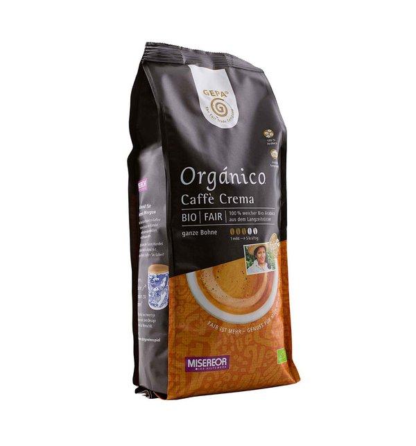 Crema Bio Organico, Bohne