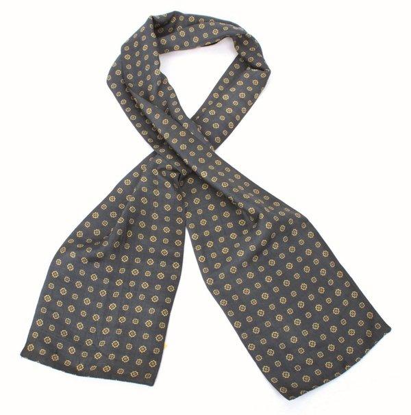 Krawattenschal,blau