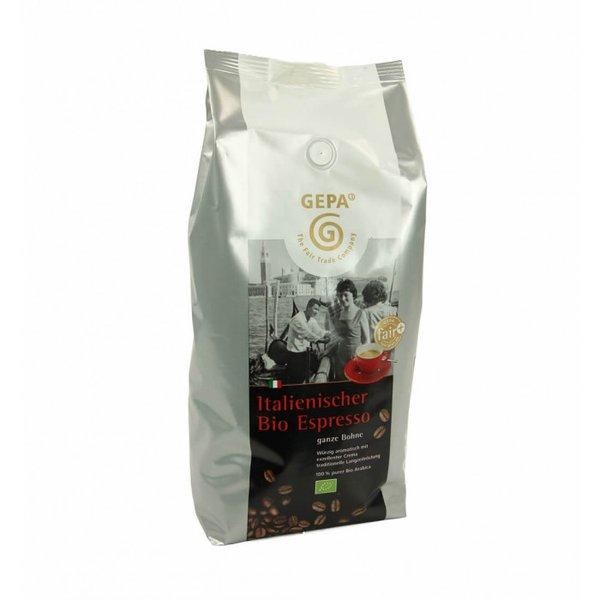 Italienischer Bio Espresso, ganze Bohne