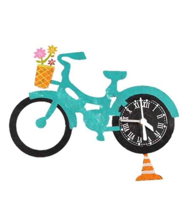 Wanduhr Fahrrad