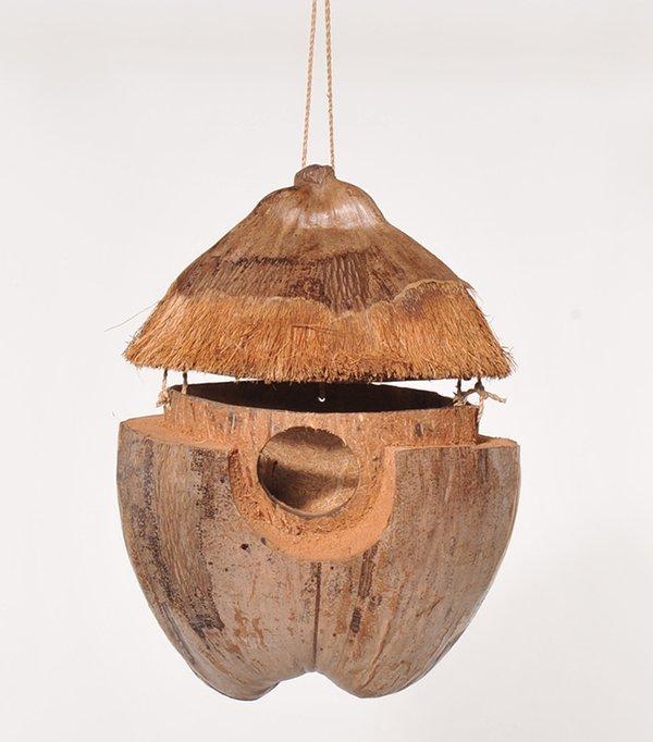 Vogelhaus Kokosnuss