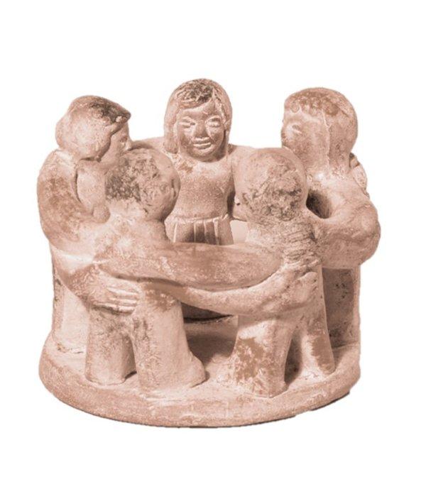 Skulptur Friedenstänzer