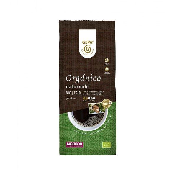 "Kaffee ""Organico"" naturmild, gemahlen"